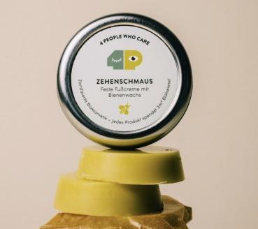 Zehenschmaus - Feste Fußcreme
